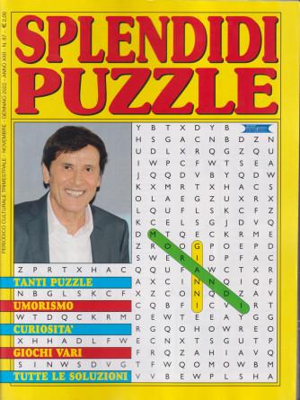 Splendidi Puzzle - n. 87 - trimestrale -novembre - gennaio   2022