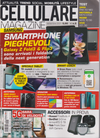 Cellulare Magazine - n. 6 - settembre 2021 - mensile -