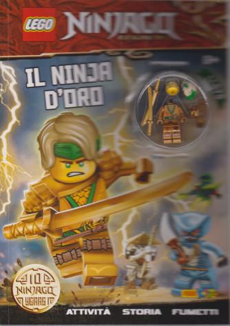 Lego Word - Ninjago - n. 7 -Il ninja d'oro -  bimestrale -27 maggio 2021
