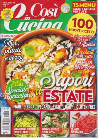 Così in cucina - n. 8- mensile - agosto  2021