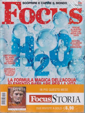 Focus + Focus Storia -    n. 348-ottobre 2021- mensile - 2 riviste