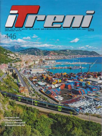I Treni - n. 446 - aprile   2021 - mensile