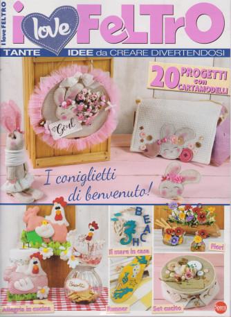 I love feltro - n. 1 - bimestrale - giugno - luglio 2021
