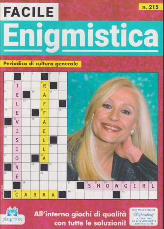 Facile Enigmistica - n. 215 - bimestrale -14/9/2021