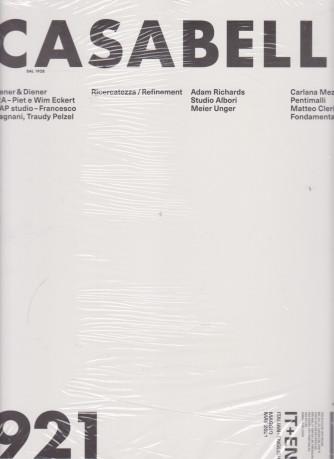 Casabella continuità - mensile n. 921 -  maggio 2021 - italiano - english