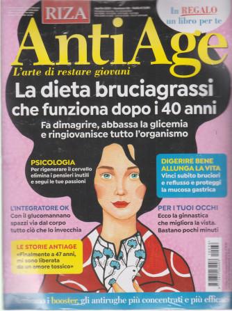 Riza Antiage - n. 36 - aprile  2021 - mensile + Combinazioni alimentari antiage - rivista + libro