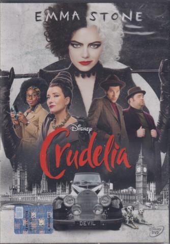 I Dvd di Sorrisi Collection 5 - n. 5 - Crudelia - Emma Stone -  settimanale - 7/9/2021-