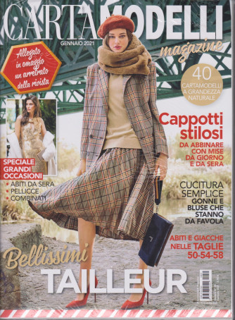 Cartamodelli MagazIne - n. 35 - mensile - gennaio 2021- 2 riviste