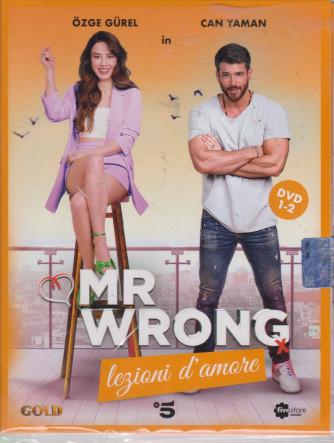 Mr Wrong - Lezioni d'amore - n. 18 -prima uscita  - 2 dvd + booklet - 17 luglio  2021   - settimanale