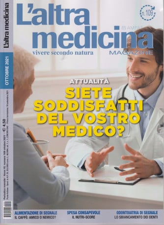 L'altra Medicina Magazine - n. 109 - ottobre 2021 - mensile