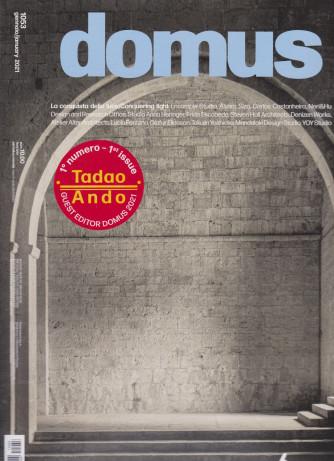Domus -    mensile  - n. 1053 - gennaio 2021 -  italiano -  inglese