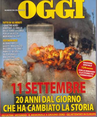 Nomi di Oggi - 11 settembre - 20 anni dal giorno che ha cambiato la storia - edizione speciale - 124 pagine con le immagini e le storie più commoventi -