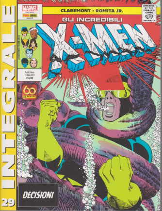 Marvel Integrale  - Gli incredibili X-Men - n.29 - Decisioni -   mensile - 13 maggio  2021