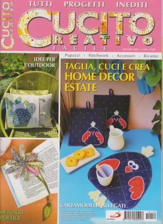 Cucito Creativo facile - n. 150 - giugno 2021- mensile