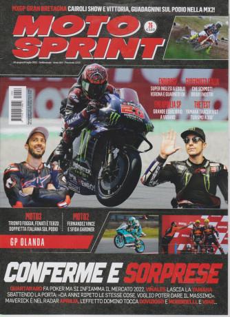 Moto Sprint - n. 26 - 29 giugno / 5 luglio 2021 - settimanale