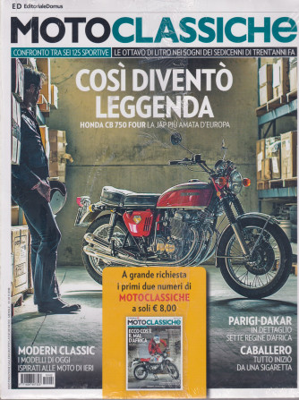 Motoclassiche- n. 102 - mensile - 1/11/2018 - 2 riviste