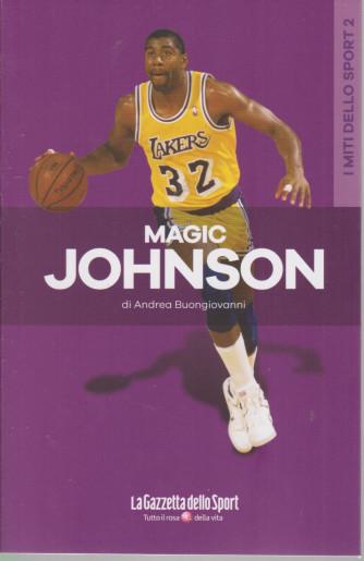 I miti dello sport -Magic Johnson - Andrea Buongiovanni  -  n. 14 - settimanale - 127  pagine