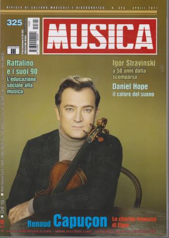 Musica -   n. 325 - mensile - 1/4/2021