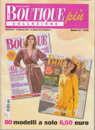 La mia boutique più collezione - n. 51- trimestrale - 16 febbraio 2021 - 3 numeri