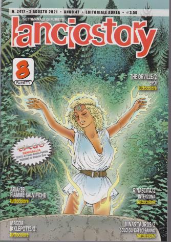 Lanciostory - n. 2417 - 2 agosto 2021 - settimanale di fumetti