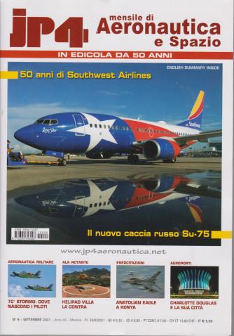 Jp4  - Mensile di Aeronautica e Spazio - n. 9  - settembre 2021 - mensile