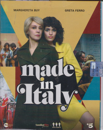 Rti Magazine -Made in Italy - La serie completa + booklet- n. 28 -aprile 2021 - 2 dvd contenenti le 4 puntate + di 6 ore di grande fiction 1 booklet + backstage