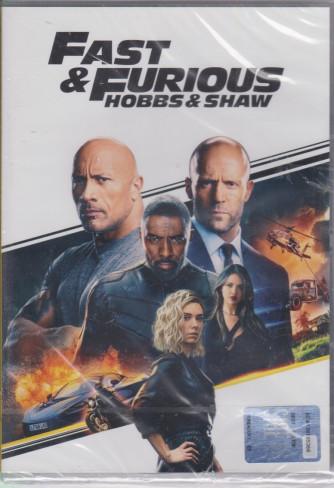 I Dvd di Sorrisi2 -Fast & Furious hobbs & shaw - n. 9 - settimanale - 10/8/2021-