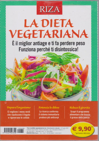 Alimentazione naturale - n. 69 - La dieta vegetariana - luglio 2021