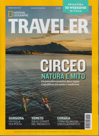 National Geographic  - Traveler -  Primavera 2021 - n. 12 - trimestrale  -3 aprile 2021