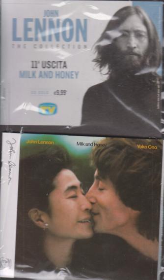 Cd Sorrisi Collezione 2 - n. 10 - John Lennon the collection - undicesima  uscita  - Milk and honey -  16/2/2021 - settimanale