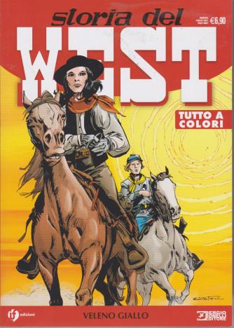 Storia del West -Veleno giallo - n. 28 - mensile -luglio  2021
