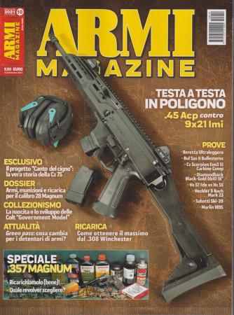 Armi magazine - n. 10- ottobre 2021 - mensile