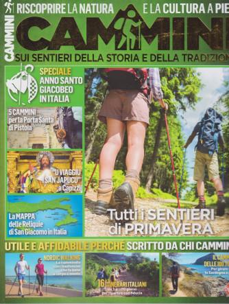 Cammini - n. 3 - bimestrale - aprile - maggio  2021