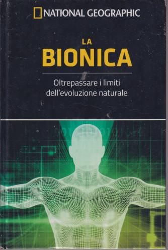 I grandi segreti del cervello - National Geographic -La bionica  n. 29  - settimanale- 24/9/2021 - copertina rigida