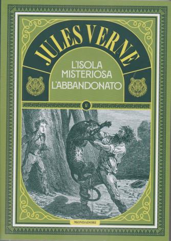 Jules Verne -L'isola misteriosa l'abbandonato -  n. 77 -2/3/2021 - settimanale - 208 pagine