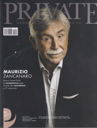 Private -  Magazine del private banking - n. 9 -settembre  2021 - mensile -