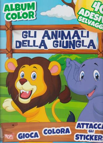 Album color - Gli animali della giungla - n. 56 - bimestrale -18 febbraio 2021