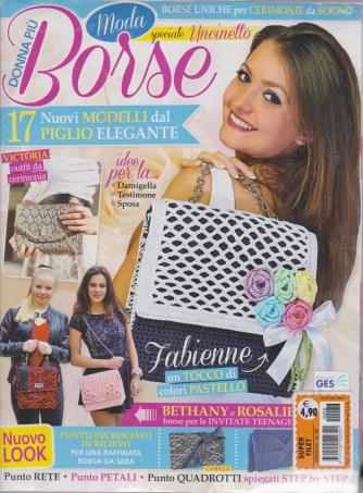 Super filet - Donna più Borse - Speciale Uncinetto - n. 78 - mensile - 2 riviste