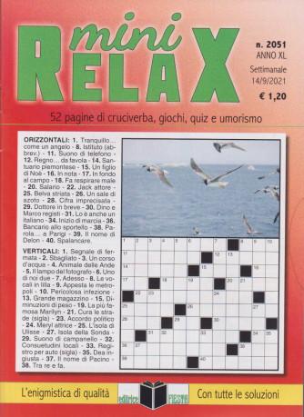 Mini Relax - n. 2051 - settimanale - 14/9/2021