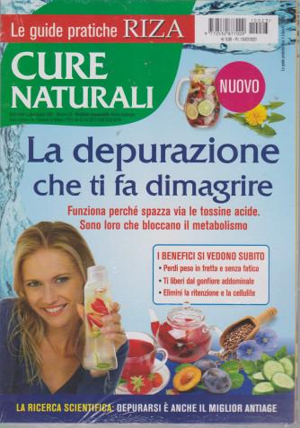 Le guide pratiche Riza - Cure naturali    - La depurazione che ti fa dimagrire - n. 23 - luglio - agosto 2021 - bimestrale