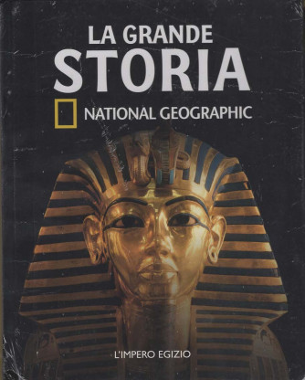 LA GRANDE STORIA NATIONAL GEOGRAPHI 1° uscita (2 volumi)