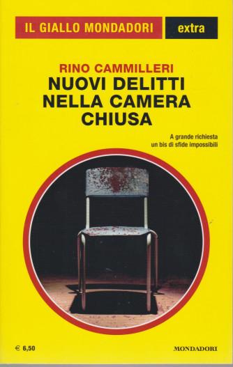 Il giallo Mondadori extra - n. 35 - Rino Camilleri - Nuovi delitti nella camera chiusa  -agosto - settembre 2021