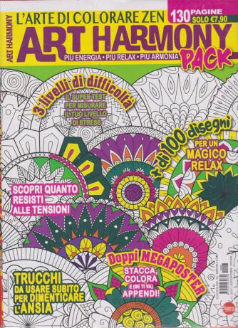 Art Harmony Pack - n. 3 - bimestrale - agosto - settembre 2021 - 2 riviste - 130 pagine