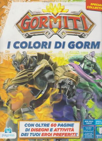 Gormiti-  I Colori di Gorm - n. 5 - bimestrale -luglio - agosto  2021