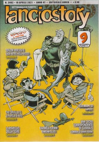 Lanciostory - n. 2402 - 19 aprile 2021 - settimanale di fumetti