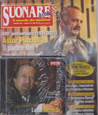 Suonare News - + cd -+ Pagine musica 2021 -  n. 280 - mensile - marzo 2021 - rivista + libro