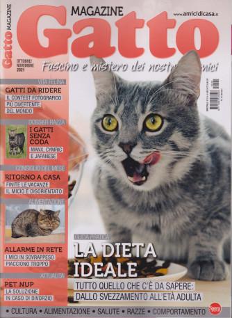 Gatto magazine - n. 141 - mensile -ottobre - novembre 2021