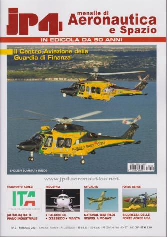 Jp4  - Mensile di Aeronautica e Spazio - n. 2 - febbraio 2021 - mensile