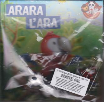 Gli animali del mio  zoo - Arara l'ara -  n. 14 - settimanale - 18/12/2020 - copertina rigida