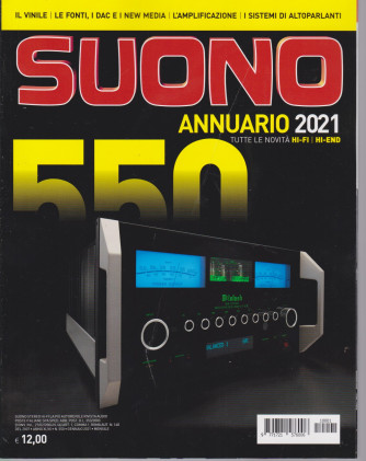 Suono - n. 550 - gennaio 2021- mensile